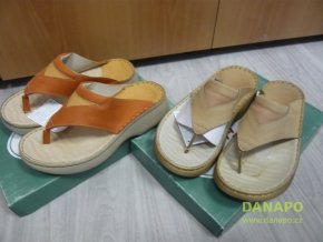29791 damske kozene pantofle nazouvaky orto 2080
