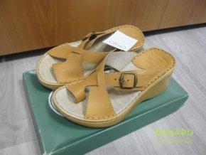 29800 damske kozene pantofle nazouvaky orto 3085