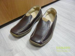 Dámské mokasiny polobotky boty Kovyst 40