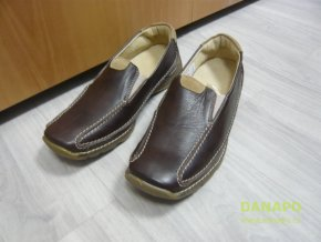 29854 damske mokasiny polobotky boty kovyst 40