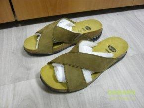 29902 damske nazouvaky pantofle scholl amur zelena