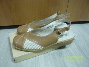 Dámské pantofle sandále boty Novafle 7989
