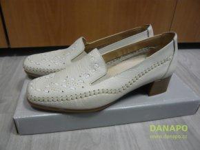 Dámské polobotky mokasiny boty Pölking 730006 36