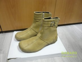30199 damske zimni boty kozacky apache ula zelene