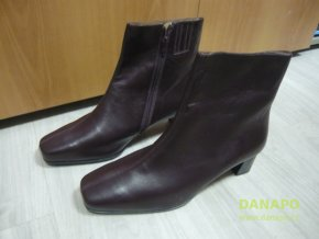 30211 damske zimni boty kozacky scholl livia 42 fialova