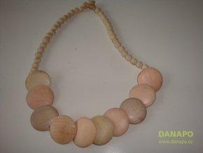 30250 damsky koralkovy retizek bezovy dreveny