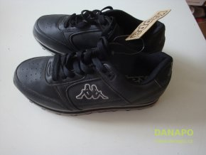 30859 1 detske botasky tenisky kappa cerne vel 35 5