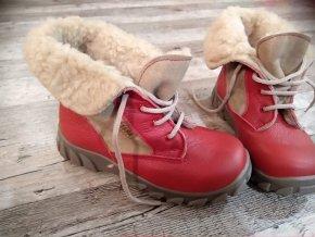 Dívčí zimní boty s kožíškem FARE vel. 29 844941