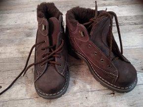 Chlapecké kotníkové zimní boty PK-REGA vel. 32,33