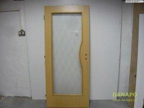 31456 dvere svetle top doors dub leve prosklene