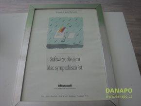 Hliníkový rám včetně skla 66x49 cm