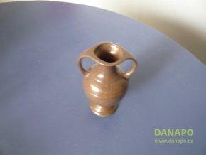 32605 keramicka vaza vazicka hneda