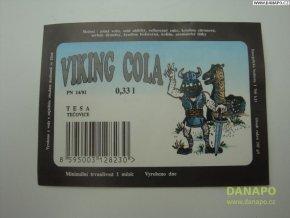 Limo etiketa - Viking Cola - Tesa - Tečovice