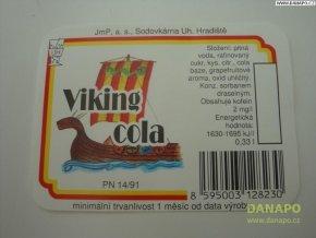 Limo etiketa -Viking cola - sodovkárna Uh.Hradiště