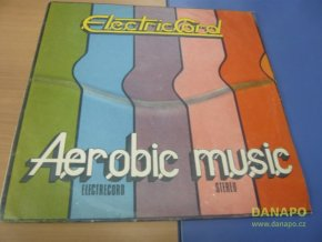 34105 lp electriccord aerobic music 1984