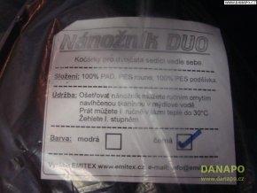 34921 nanoznik na kocar duo cerny