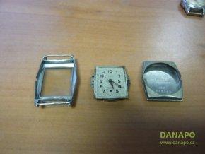 34981 naramkove hodinky art decove ocelove mimo torzo