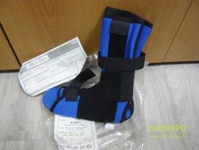 Otéza nohy hlezna s 3 výztuhami neoprén S M L XL