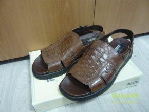 35728 panske kozene boty obuv sandaly manitu