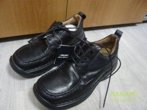 35731 panske kozene boty polobotky air step vel 41