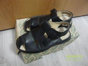 35746 panske kozene sandaly boty obuv orto vel 41