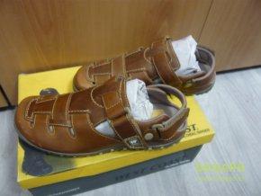 Pánské kožené sandály boty obuv West Coast