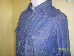 36511 1 philip russel panska kosile jeans dl ruk nove
