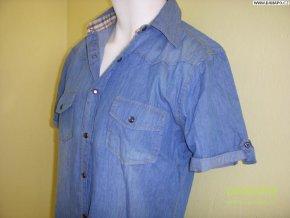 36514 2 philip russel panska kosile jeans kr ruk nove