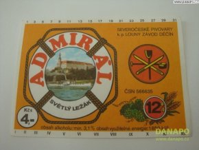 36994 pivni etiketa admiral svetly lezak 12pr