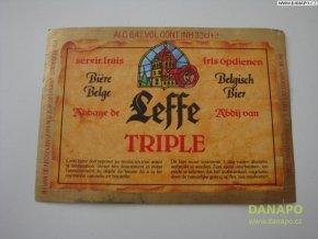 37000 pivni etiketa belgisch bier leffe triple
