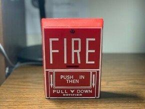 Požární hlásič signalizace poplach Alarm - Notifier Fire Lite Model SB-10