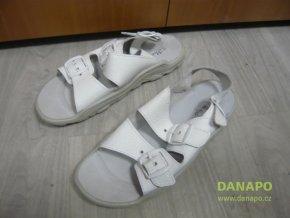 Pracovní zdravotní sandály pantofle obuv Adam 45