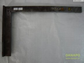 38137 prilozny plochy uhelnik ocelovy se zakladnou