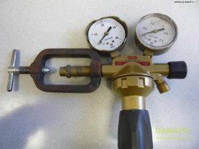 Redukční ventil GCE DINAC ACETYLEN- A2 - 1,5