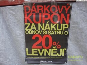 38422 reklamni banner poutac plachta sleva 20