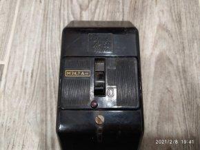 Starý 3f jistič J1K 50 500V OEZ