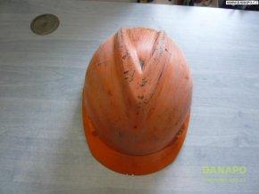 39409 stavebni ochranna prilba inxs oranzova