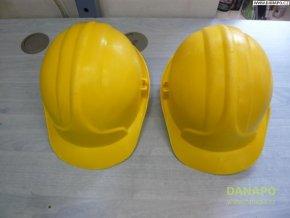Stavební ochranná přilba JSP žlutá