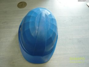 39421 stavebni ochranna prilba las modra