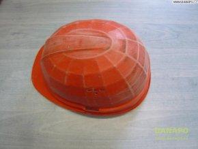 Stavební ochranná přilba LAS - oranžová