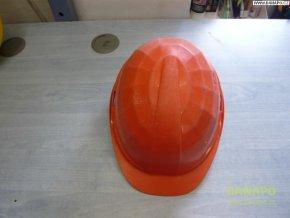 Stavební ochranná přilba LAS oranžová 6-bodová