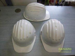 Stavební ochranná přilba Taglie - Bílá