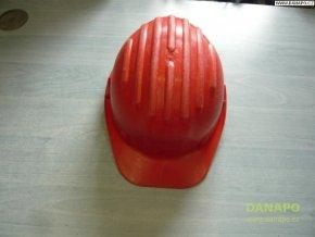 Stavební ochranná přilba Taglie - červená
