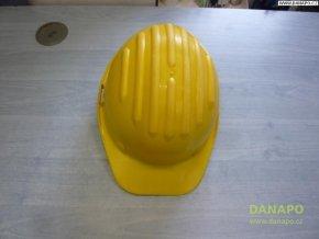 Stavební ochranná přilba Taglie-žlutá