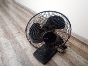 Stolní domácí ventilátor SMC TD12BK 30cm černý
