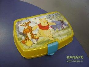 39520 svacinovy box krabicka disney medvidek pu 17x12x5