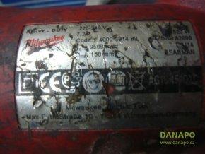 Úhlová bruska Milwaukee AG16-150QXC torzo