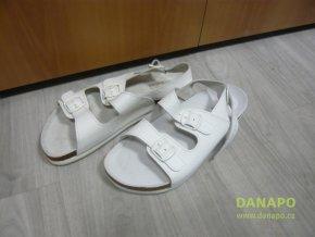 40252 uni pracovni zdravotni obuv bila natural