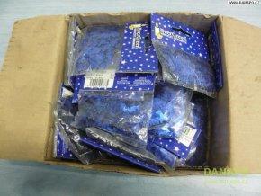 40402 vanocni dekorace konfety ve tvaru sklenice modre