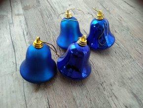 VÁNOČNÍ ZBOŽÍ Baňky - Modrý zvonek / zvoneček